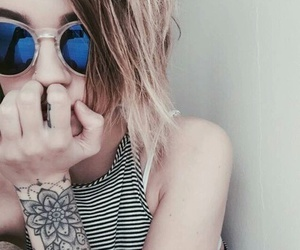 girl, tattoo, and cool image