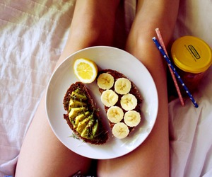 fitness, healthy, and vegan image