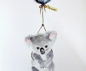 Koala, animal, and art image