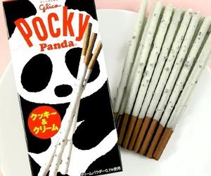 pocky, panda, and chocolate image