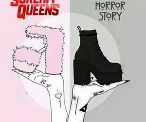 scream queens, american horror story, and ahs image