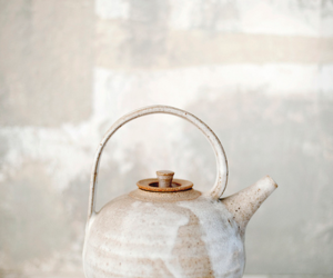 teapot and white image