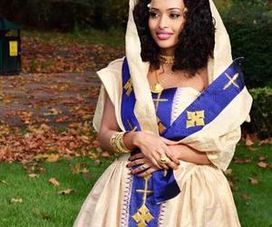 beautiful, dress, and ethiopian image