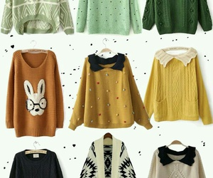 sweater, fashion, and cute image