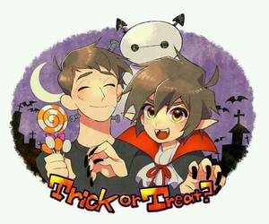 happy hallowen, big hero 6, and hiro hamada image