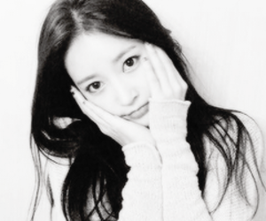 b&w, icons, and t-ara image