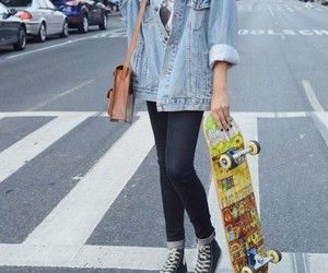 fashion, style, and skater image