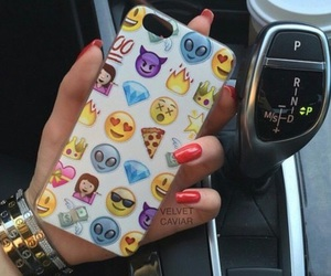 iphone, case, and emoji image