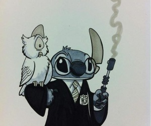 stitch, harry potter, and disney image