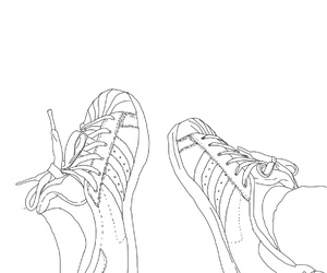 adidas, drawing, and girl image