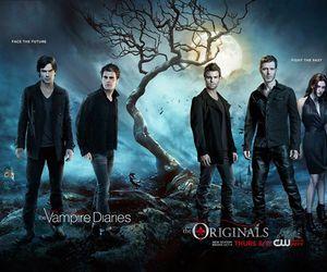 The Originals, the vampire diaries, and ian somerhalder image
