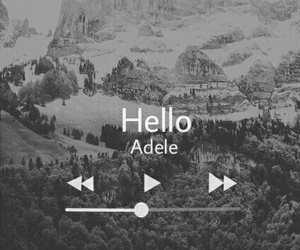 Adele, hello, and music image