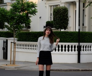 fashion, neutrals, and outfit image