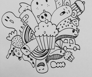 art, creativity, and doodle image