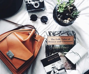 bag, book, and photography image