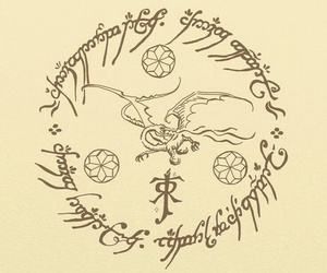 the hobbit, the lord of the rings, and tolkien image