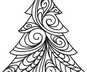 black and white, christmas, and draw image