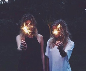 friendship, goals, and lights image