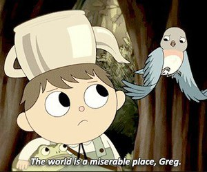 Greg, over the garden wall, and quotes image