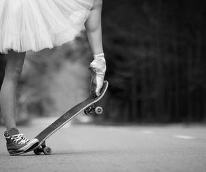 ballet, skate, and dance image