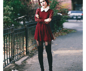 fashion, Halloween, and red image
