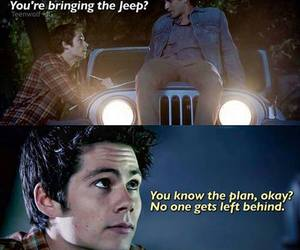 teen wolf, stiles, and scott image