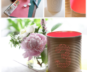 decor, diy, and latas image