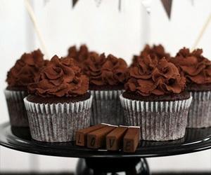 chocolate, cupcake, and dessert image
