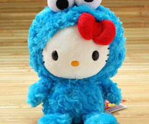 hello kitty and cookie monster image