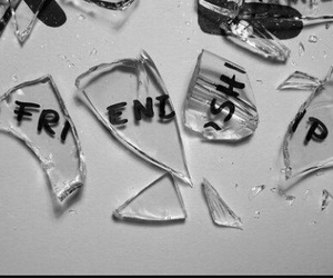 friendship, broken, and friends image