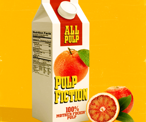 pulp fiction, juice, and movie image