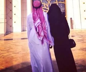 couple, muslim, and islam image