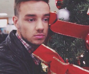 liam payne, christmas, and one direction image
