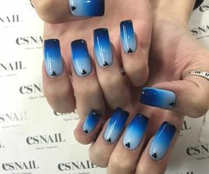 nail art, nail polish, and nail design image