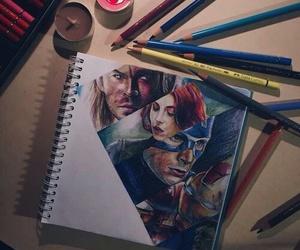 art, Marvel, and Avengers image