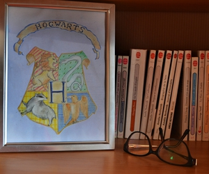 art, ravenclaw, and drawing image