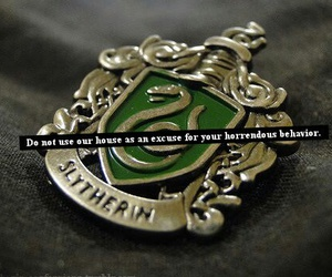 draco malfoy, green, and hogwarts image