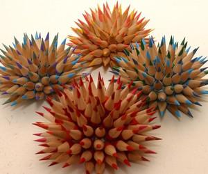 art, diy, and pencils image