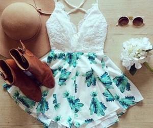 blue, white, and short dresses image