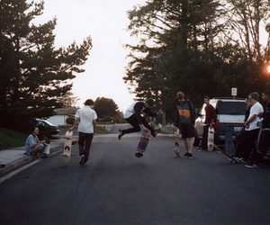 skate, boy, and friends image