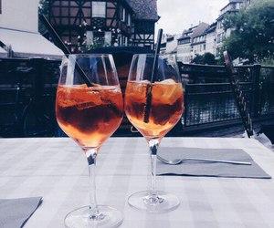 drink, luxury, and orange image
