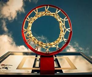 Basketball, basket, and sport image