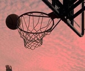 Basketball and goal image