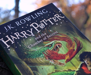 harry potter, book, and j k rowling image