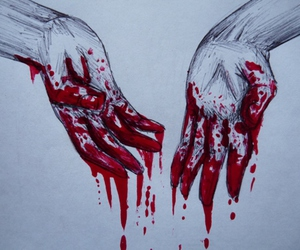 my bloody hands image