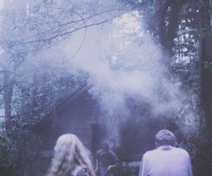 grunge, smoke, and vintage image