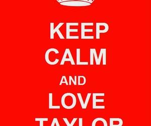 hanson, taylor, and keep calm image