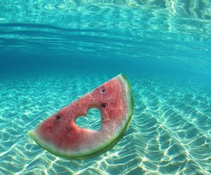 blue, food, and water image
