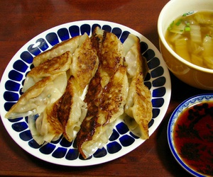 dumpling, food, and japanese food image