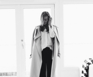 classy, coat, and girl image